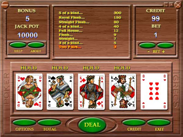 poker machine free games